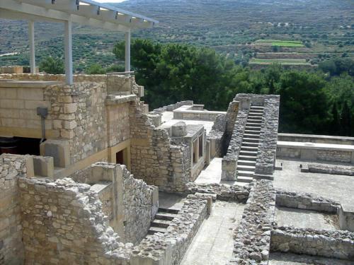 il sito archeologico di Cnosso