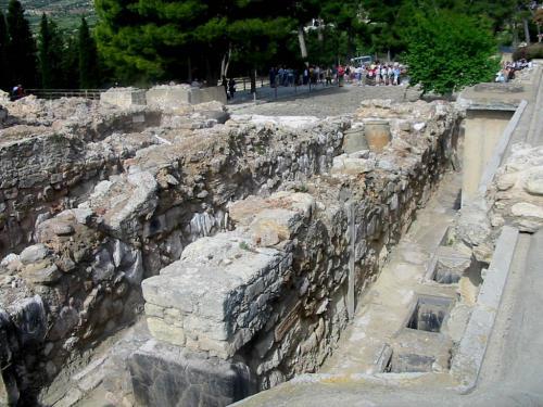 il sito archeologico di Cnosso- fotoservizio: corona perer