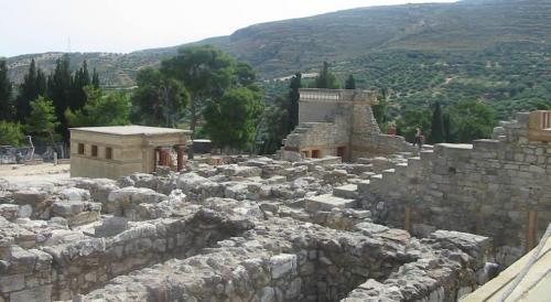 il sito archeologico di Cnosso - fotoservizio: corona perer