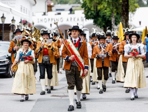 Il folklore accompagna tutte le feste di Seefeld