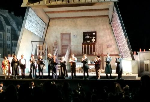La Boheme di Signorini andata in scena a luglio - foto www.giornalesentire.it