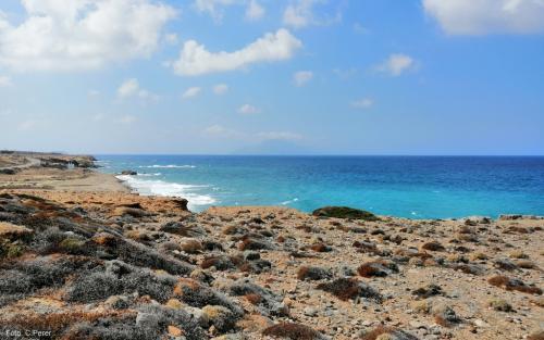 La costa occidentale sferzata dal Meltemi è il paradiso per gli sport d'acqua - foto: www.giornalesentire.it