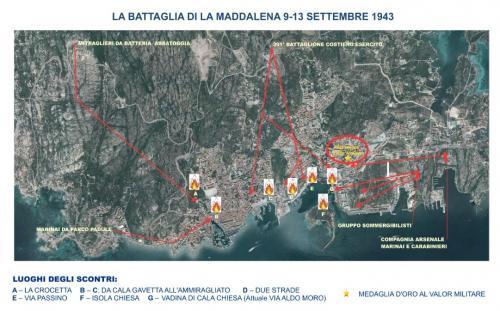 i luoghi della battaglia nel 1943