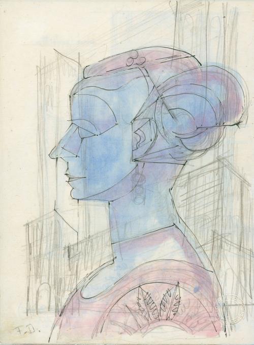 Rosetta, regina e capa della ricamatrici,moglie fedele e prima collaboratrice