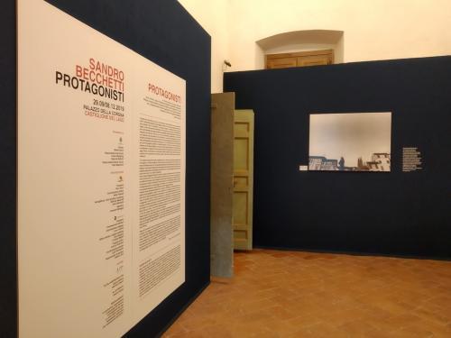 La mostra è a Palazzo della Corgna a Castiglione del Lago
