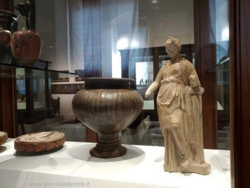 Palazzo Casali ospita le collezioni dell'Accademia Etrusca - foto www.giornalesentire.it